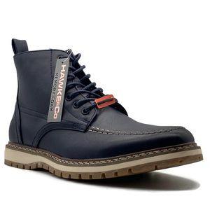 Hawke & Co. Sierra Lace-Up Navy Boot